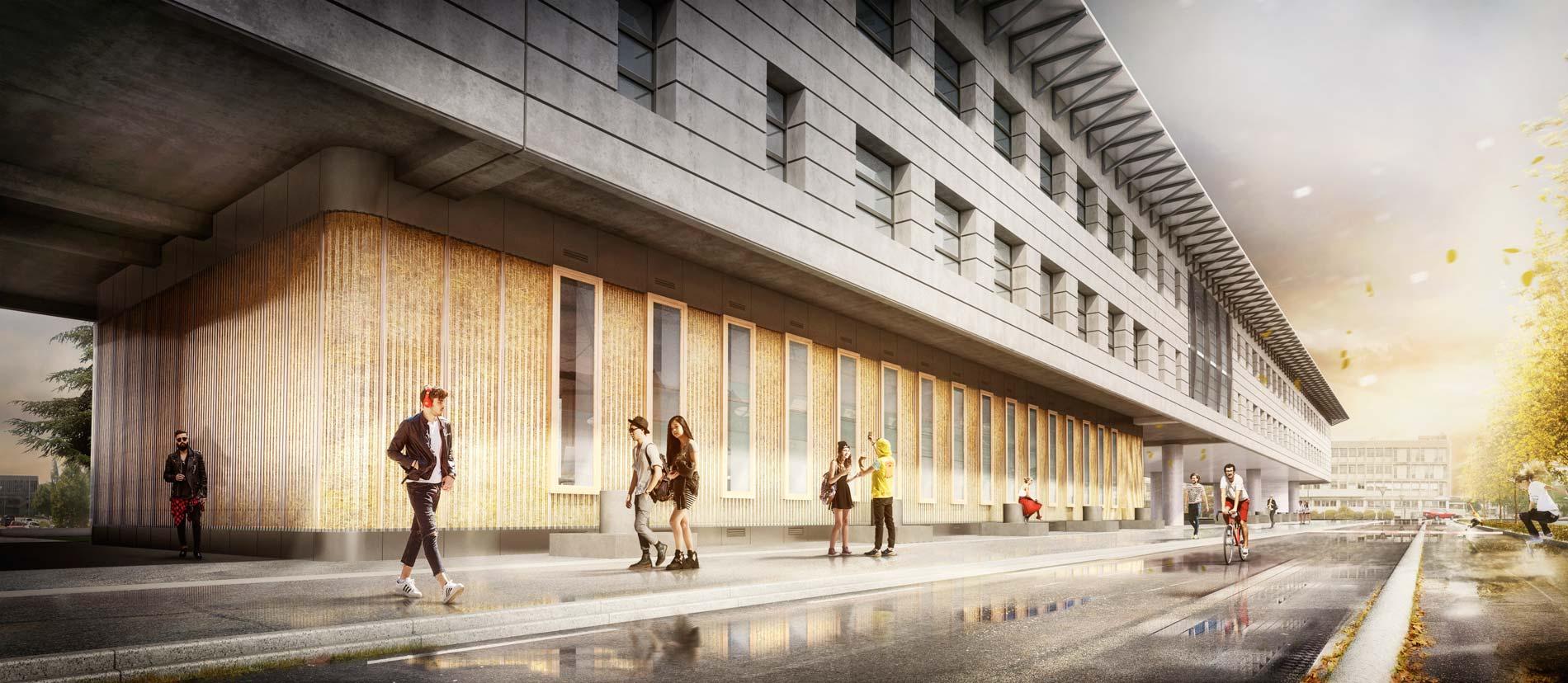Pr fabrique de l 39 innovation le off dd for Z architecture william vassal